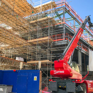 Lifting and Travelling with Suspended Loads using Telehandlers